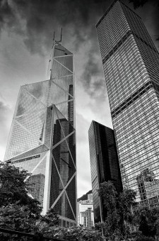 """HK icon..""<br />another view of Hong Kong highrise<br />building.."