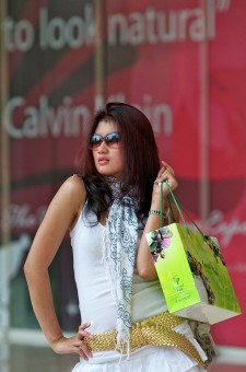 &quot;shopping spree..&quot;<br />sesi hunting di Central Park dgn tema&lt;br /&gt;Shopping Spree
