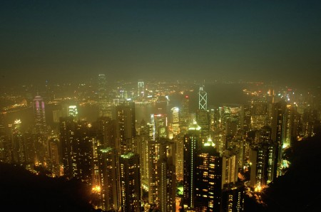 """Night at HK""<br />masih seri jalan-jalan di HK..