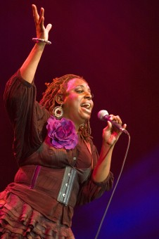 &quot;Ledisi&quot;<br />Although she released a number of&lt;br /&gt;independent (collector's item) albums&lt;br /&gt;(&quot;Soulsinger&quot; and &quot;Feeling Orange but&lt;br /&gt;Sometimes Blue&quot;) with group &quot;Anibade&quot;, it&lt;br /&gt;was not until the release of her major-label&lt;br /&gt;debut album &quot;Lost &amp; Found&quot; that Ledisi&lt;br /&gt;became famous. Often compared to Ella&lt;br /&gt;Fitzgerald and known for her scat-style&lt;br /&gt;singing, Ledisi received a Grammy nomination&lt;br /&gt;for &quot;Best New Artist&quot; after the release of&lt;br /&gt;&quot;Lost &amp; Found&quot;. She was also nominated for a&lt;br /&gt;BET Award. Source: javajazzfestival.com
